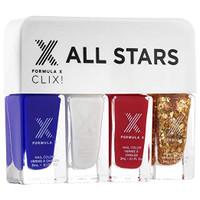 Formula X Nail Color, All Star Clix, .4 oz