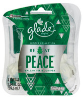 Glade Be at Peace Balsam Fir Juniper Refill Plugins Scented Oil