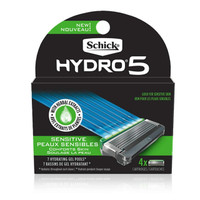 Schick Hydro 5 Sensitive Razor Cartridges, 4 count