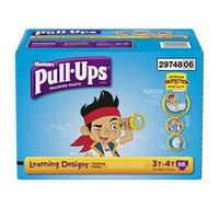 Pull-Ups Learning Designs Training Pants 3T-4T Boys, packed 66/cs