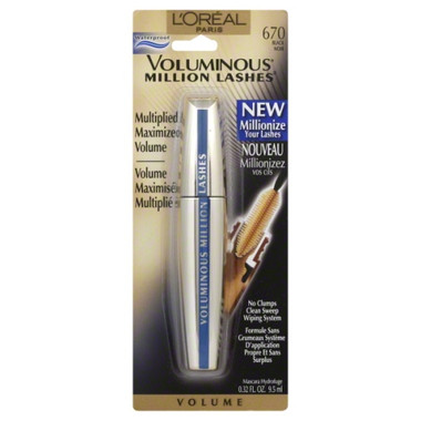 L'oreal Voluminous Million Lashes #670 Black