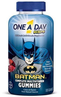 One A Day Kids Batman Complete Multi Vitamin Gummies, 180 ct