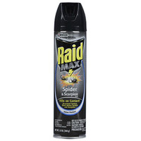 Raid Max Spider and Scorpion Killer, 12 oz