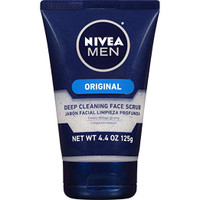 Nivea Men Original, Deep Cleaning Face Scrub 4.4 oz
