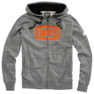100% Syndicate Mens Zip-Front Hoody