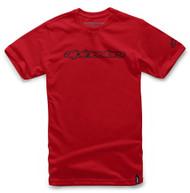 Alpinestars Wordmark Mens Short Sleeve T-Shirt