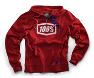 100% Official One Hundred Full Zip Hooded Sweatshirt