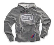 100% Official One Hundred Full Zip Hooded Sweatshirt
