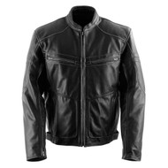 Black Brand Cutthroat Mens Leather Jacket