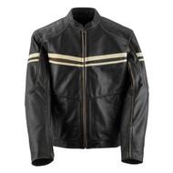 Black Brand Cutthroat Mens Leather Jacket