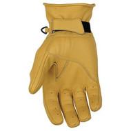 Black Brand Pinstripe Mens Gloves