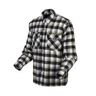 Scorpion Covert Moto Mens Long Sleeve Button Up Flannel Shirt