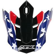 AFX FX-17Y Flag Youth MX Visor - 2011 Models