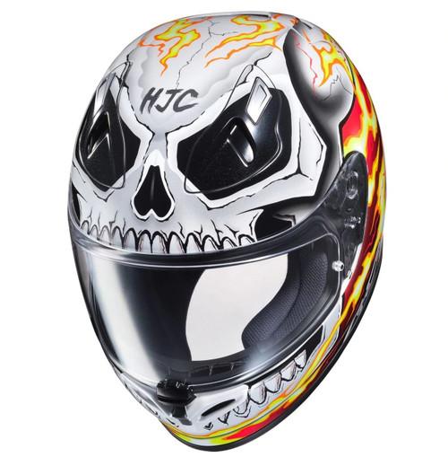 Hjc Fg 17 >> Hjc Fg 17 Ghost Rider Full Face Helmet Perf Moto
