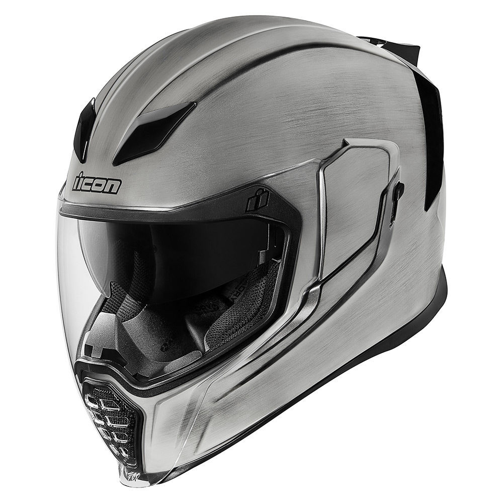 NEW ICON KROM MOTORCYCLE HELMET ALL SIZES BOTH COLORS FREE SHIPPING