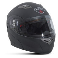 Zoan Flux 4.1 Solid  Modular Snow Helmet w/Electric Shield