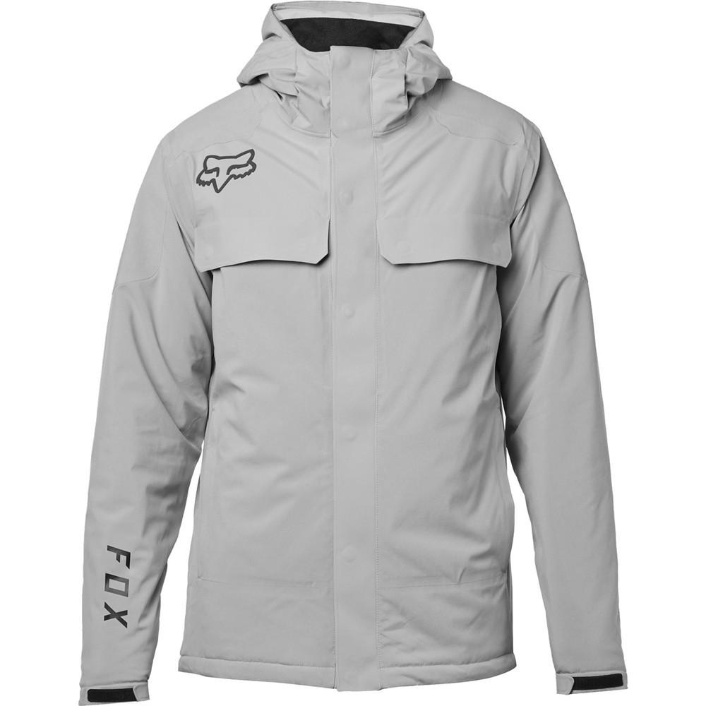 Fox Racing Redplate Flexair Button Up Short Sleeve Shirt Steel Gray
