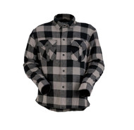 Z1R The Duke Mens Long Sleeve Flannel Shirt