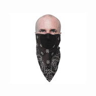 Schampa FaceFit Tieback Paisley Facemask