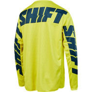 Shift White/Whit3 Label York Youth MX Offroad Jersey