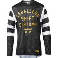 Shift Black/3lack Label Caballero Mens MX Offroad Jersey