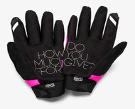 100% Brisker Dots Womens MX Offroad Gloves