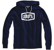 100% Syndicate Solid Mens Zip Up Hoody