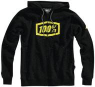 100% Syndicate Solid Mens Zip Up Hoody