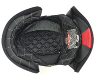 Fly Racing .38 Retro Top Inner Liner Pad for MD-LG Helmet