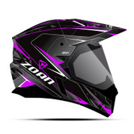 Zoan Synchrony Hawk Dual Electric Shield Snow Helmet