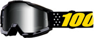 100% Accuri Pistol Youth MX Offroad Goggles w/Mirror Lens