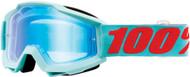 100% Accuri Maldives MX Offroad Goggles w/Mirror Lens