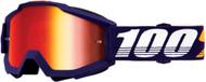 100% Accuri Grib MX Offroad Goggles w/Mirror Lens