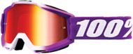 100% Accuri Framboise Youth MX Offroad Goggles w/Mirror Lens