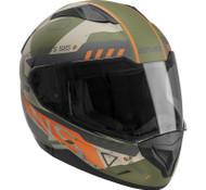 EVS Stratus Warbird Motorcycle Helmet