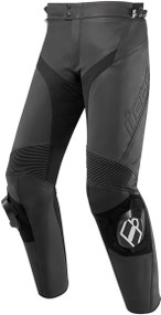 Icon Hypersport 2 Mens Leather Motorcycle Pants