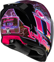 Icon Airflite Synthwave Motorcycle Helmet