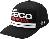 100% Foxtrot Geico Flexfit Hat