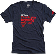 100% Thanks Mens Short Sleeve T-Shirt