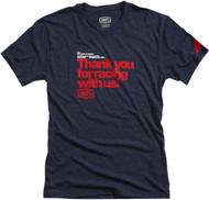 100% Thanks Mens Short Sleeve T-Shirt