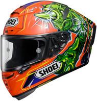 Shoei X-Fourteen/X-14 Power Rush Motorcycle Helmet