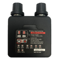 California Heat 12V Dual Wireless Remote for Dual Digital Controller