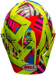 Bell MX-9 Adventure Tagger Double Trouble Electric Shield Snow Helmet
