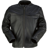 Z1R Munition Mens Leather Jacket