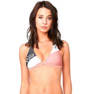 Fox Racing Kingsport Womens Fixed Halter Bikini Top