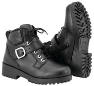 Black Brand Marica Womens Leather Boots