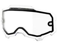 100% Armega Goggle Replacement Vented Dual Pane Lens
