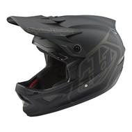 Troy Lee Designs D3 Fiberlite Factory Mono Bicycle Helmet