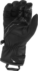 Fly Racing Title Mens Textile Heated Gloves