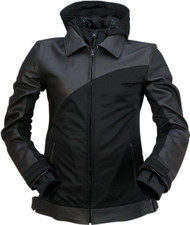 Z1R Elysia Womens Leather/Textile Jacket